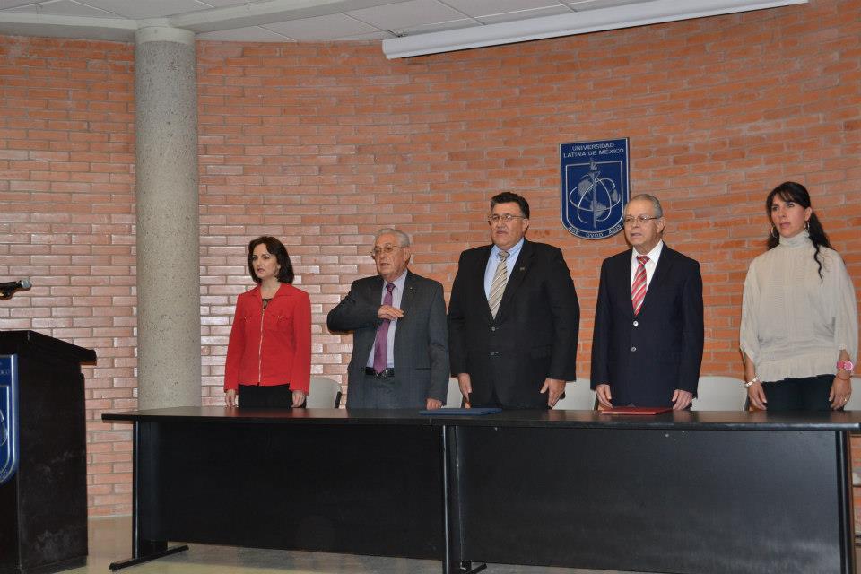 Este jueves, 31 de enero, la Universidad Latina de México, tuvo a ...